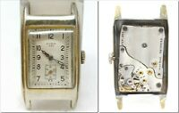 Orologio Cyma 335 anni 30 vintage watch antique clock caliber 335 rectangular