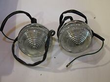 Pair of Silver Shadow (Early) Reverse Lamps Complete Lucas  UD14980