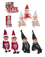 "12"" Elves Behavin' Badly Elf Props Put On The Shelf Ideas Kit Christmas Family"