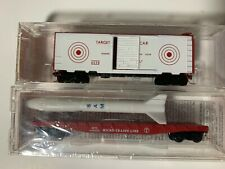 Micro Trains 6338 Special Run Target Car and 646404 Flat w/ Missile