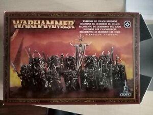 Warhammer Fantasy: Componenti Guerrieri Del Caos + Carro Del Caos