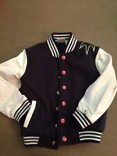 Jacket Boys 3T Truly Scrumptious Heidi Klum Monster Snap Front Black White Sleev