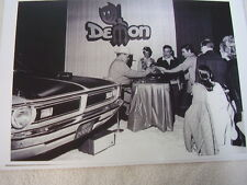 1971 DODGE DEMON  WITH JOE HIGGINS? DODGE SHERIFF  11 X 17  PHOTO  PICTURE