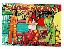 Shoenen Knife Postcard, 1990's advertising their new album Happy Hour, Unposted