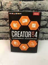 Roxio Creator NXT 4 Complete Multimedia Suite Windows Compatible