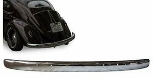 113707311B VW BEETLE 1955-1967 CHROME REAR BLADE BUMPER VOLKSWAGEN BUG