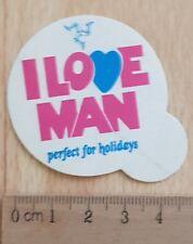 Sticker / Autocollante / Aufkleber / Decal +/- 1980 i love man