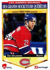1993-94 Durivage Score #12 Eric Desjardins
