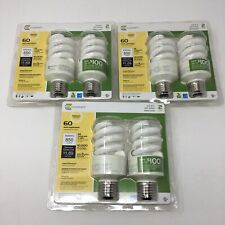 EcoSmart 14-Watt (60W Equivalent) Dimmable Household CFL Light Bulb (6-Pack)