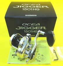 17' NEW SHIMANO OCEA JIGGER 1501HG LEFT HAND REEL *PRIORITY 1-3 DAYS DELIVERY*