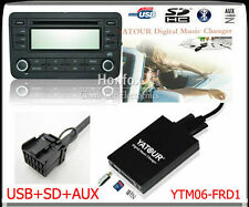 Yatour Digital CD changer Interface USB SD adapter for Ford Europe 12-pin AUX