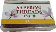 Chef's Choice 100% Pure Premium Quality Saffron Threads 1g Free Post