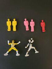 Mighty Morphin Power Rangers Teeny/tiny/mini/small Power Ranger Figures