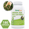 Green Tea Extract 98% 1000mg with EGCG 180 Capsules Non-GMO & Gluten Free Max &