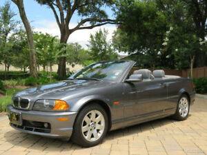 2001 BMW 3-Series 325ci Convertible with 31k Miles Stunning Ready to Enjoy!