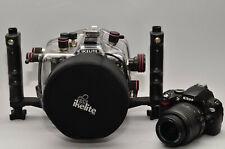 Kit Ikelite Custodia 6804.1 + Nikon  D60 e Zoom 18-55 + Dome Port 5503.50