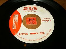 LITTLE JIMMY DEE - YOU'RE THE ONE FOR ME - PUT ME IN ALL  / LISTEN - RNB POPCORN