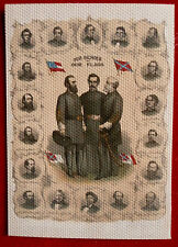 """The Civil War Chronicles"" series of Trading Cards by Cult Stuff - CANVAS FLAG"