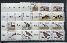 Südafrika 890/907 I postfrische waagerechte Paare / Freimarken - Tiere ...1/3802