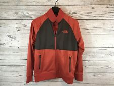 The North Face Mens Ketchup Red Take Back Retro Track Jacket Size Small NWT