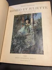 William Shakespeare Roméo et Juliette Georges Duval - Illustrations W. Hatherell