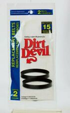 Dirt Devil Vacuum Belt Style 15 For Ultra Corded Hand Vacuums 2 pk 3-SN0220-001