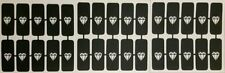 30 X Plantillas Para Aerógrafo De Uñas De Diamante Regalo Presente Valentine Love