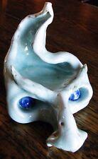 Ceramic GARGOYLE FACE Incence Burner & Ash Tray, Handmade by RareCat