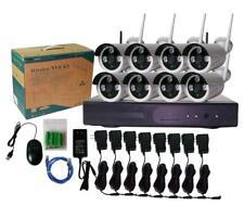 H.265 8CH 1080P Wireless NVR 2.0MP IP Camera Wifi Security CCTV System P2P IR