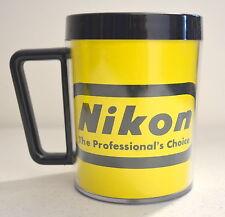 "Vintage NIKON ""The Professional's Choice"" Camera Logo Plastic Insulated Mug"