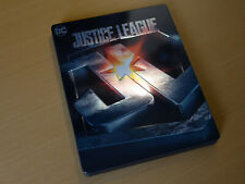 Justice League - 3D DEUTSCH FRENCH - HMV Exclusive Steelbook [3D / 2D Blu-ray]