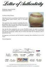 Gabby Hartnett Signed Vintage Baseball PSA/DNA COA Autograph Cubs Hall of Fame