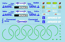 F1 DECALS MUSEUM COLLECTION D531 1/43 FOR RB5 JAPAN & BMW F1.09 MONACO