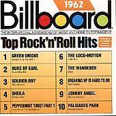 Billboard Top Rock & Roll Hits: 1962 by Various Artists (Cd, Oct-1988, Rhino (La