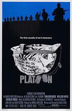 Platoon Movie Poster 1986 Rare