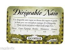 DF42 CARTE ESCORTEUR : DIRIGEABLE NAIN ACCESSOIRE DREADFLEET