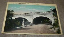 VINTAGE ARCH BRIDGE, EDGEWOOD PARK, NEW HAVEN, CONNECTICUT UNPOSTED POST CARD