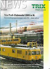 Trix News Profi-Club 01/2009