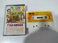 Parchis y sus Amigos Grupo Nins Regaliz 1981 - Cinta Tape Cassette