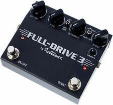 Fulltone Fulldrive 3 Overdrive / Boost Pedal insured & trackable shipping