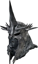 Deluxe Witch King Full Latex Mask Lotr Lord of the Rings Nazgul Ring Wraith