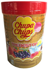 NEW Chupa Chups 100 Lollipops Bulk Lollies Jar Assorted Flavours FREE AU POST