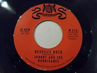 Johnny & The Hurricanes Reveille Rock / Time Bomb 45 Warwick Vinyl Record