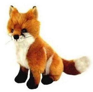 """~❤️~FOX REYNARD by  BOCCHETTA 24cm 9"""" plush sitting soft toy BNWT~❤️~"""