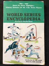 World Series Baseball Encyclopedia Magazine, Game Highlights 1903-1960 FAIR