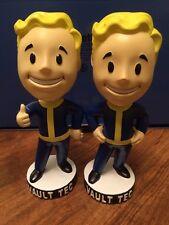 Fallout : A Pair Of Vault Tec Pip Boy Bobble Head 7 Inch Version (LAST FEW)