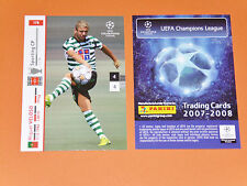 MIGUEL VELOSO SPORTING PORTUGAL FOOTBALL CARDS PANINI CHAMPIONS LEAGUE 2007-2008