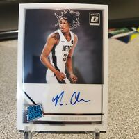 2019-20 Panini Donruss Optic Nicolas Claxton Rated Rookie On Card Auto RC #171