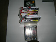 Playstation 3 Games Lot of 11   PS3  Bundle *