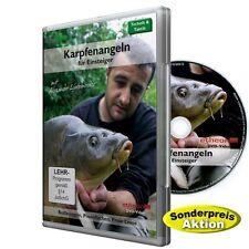 DVD Karpfen angeln für Einsteiger, Grund-/Posen-/Pirsch-/Nacht-Angeln; Anfüttern